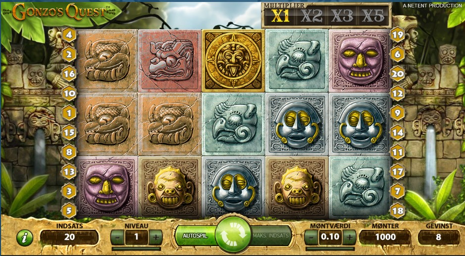 Free online pokies with features